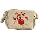 Taylor Lassoed My Heart Messenger Bag