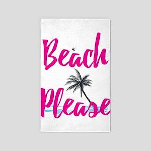 Beach Please Area Rug
