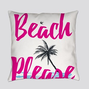 Beach Please Everyday Pillow