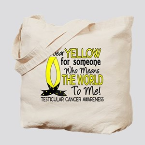 Means World To Me 1 Testicular Cancer Shirts Tote