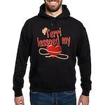 Terri Lassoed My Heart Hoodie (dark)