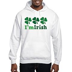I'm Irish St Patrick's Couple Hoodie