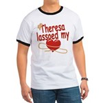 Theresa Lassoed My Heart Ringer T