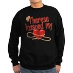 Theresa Lassoed My Heart Sweatshirt (dark)