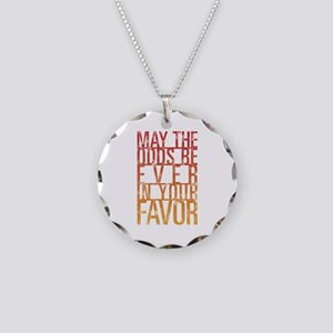 May The Odds Necklace Circle Charm