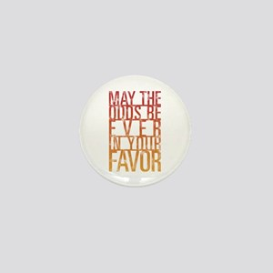 May The Odds Mini Button