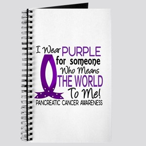 Means World To Me 1 Pancreatic Cancer Shirts Journ
