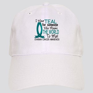Means World To Me 1 Ovarian Cancer Shirts Cap