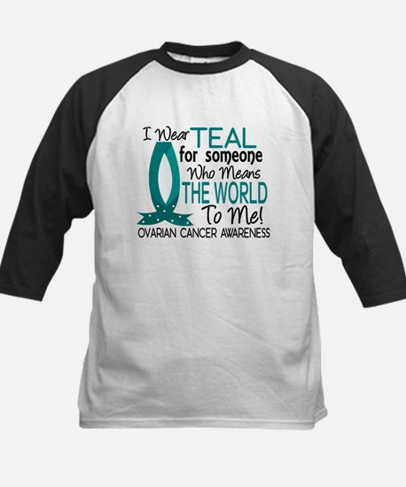 Means World To Me 1 Ovarian Cancer Shirts Tee