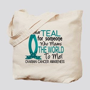 Means World To Me 1 Ovarian Cancer Shirts Tote Bag