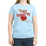 Tracy Lassoed My Heart Women's Light T-Shirt