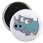 Cute Rhino Magnet