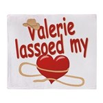 Valerie Lassoed My Heart Throw Blanket