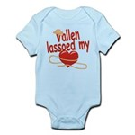 Vallen Lassoed My Heart Infant Bodysuit