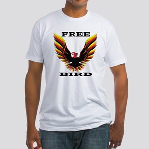 Free Bird Fitted T-Shirt