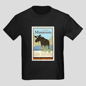 Travel Minnesota Kids Dark T-Shirt