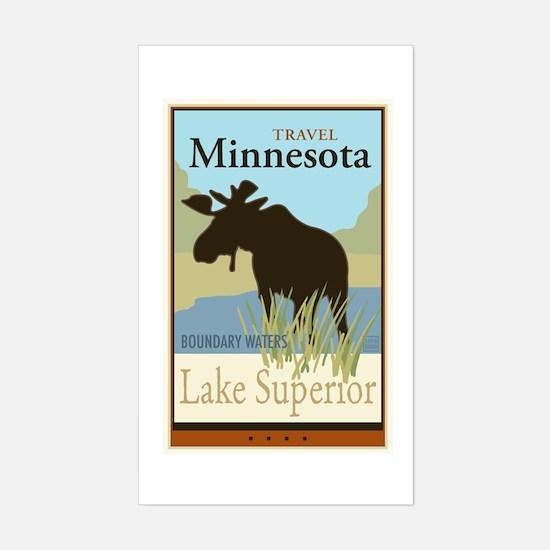 Travel Minnesota Sticker (Rectangle)