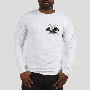 American Liberty Eagle Long Sleeve T-Shirt