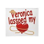 Veronica Lassoed My Heart Throw Blanket