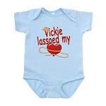 Vickie Lassoed My Heart Infant Bodysuit