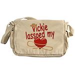Vickie Lassoed My Heart Messenger Bag