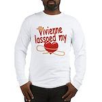 Vivienne Lassoed My Heart Long Sleeve T-Shirt