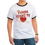 Vivienne Lassoed My Heart Ringer T