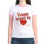 Vivienne Lassoed My Heart Jr. Ringer T-Shirt