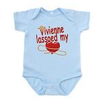 Vivienne Lassoed My Heart Infant Bodysuit