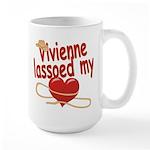 Vivienne Lassoed My Heart Large Mug