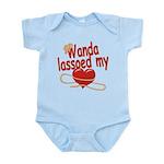 Wanda Lassoed My Heart Infant Bodysuit