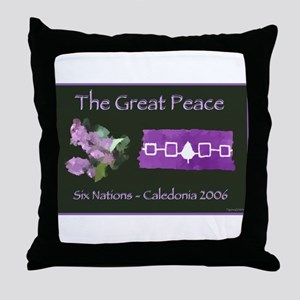 The Great Peace Throw Pillow