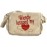 Wendy Lassoed My Heart Messenger Bag