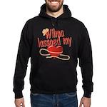 Wilma Lassoed My Heart Hoodie (dark)