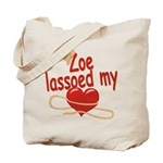 Zoe Lassoed My Heart Tote Bag