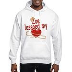 Zoe Lassoed My Heart Hooded Sweatshirt