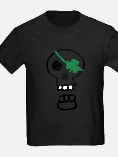 St Patrick Skull T-Shirt