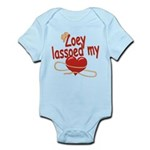 Zoey Lassoed My Heart Infant Bodysuit