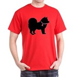 Chow Chow Breast Cancer Support Dark T-Shirt