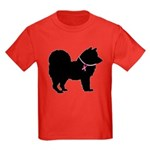 Chow Chow Breast Cancer Support Kids Dark T-Shirt