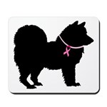 Chow Chow Breast Cancer Support Mousepad