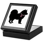 Chow Chow Breast Cancer Support Keepsake Box