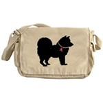 Chow Chow Breast Cancer Support Messenger Bag
