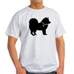 Chow Chow Breast Cancer Support Light T-Shirt