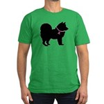 Chow Chow Breast Cancer Support Men's Fitted T-Shi