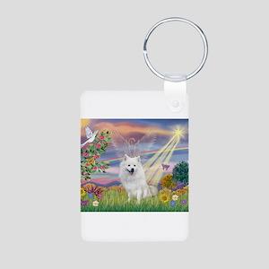 Cloud Angel / Eskimo Aluminum Photo Keychain
