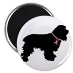 Cocker Spaniel Breast Cancer Support 2.25