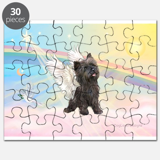 Angel / Cairn Terrier (brin) Puzzle