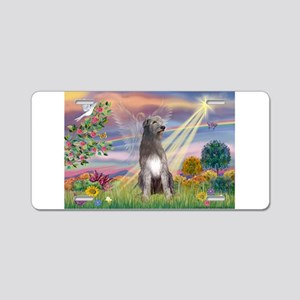 Cloud angel / Wolfhound(g) Aluminum License Plate