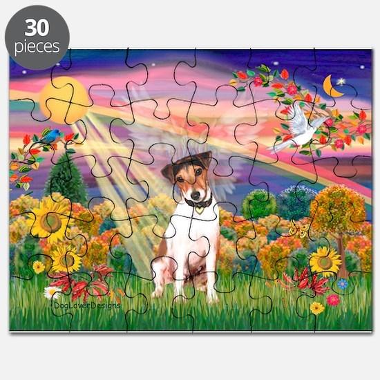 Autumn Angel / JRT Puzzle